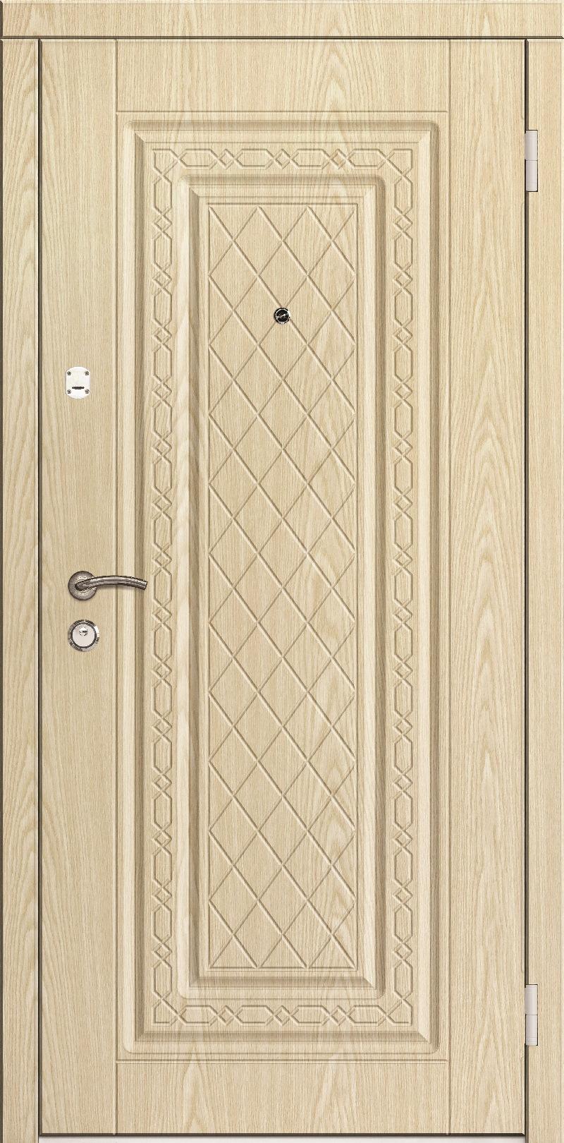входные двери порошковые внутри шпон